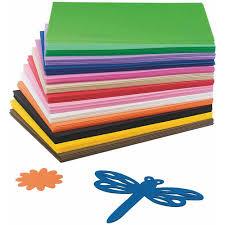 l200 foam sheet eva foam sheet assortment pack of 78 walmart com