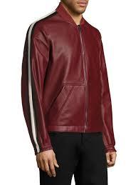 bally reversible er jacket dark red men apparel coats jackets ers varsity bally shoes