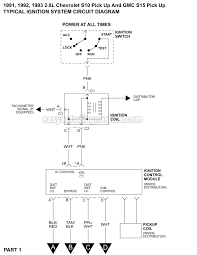 1991 chevy s 10 pickup wiring diagram wiring diagram host 1991 1993 2 8l chevy s10 ignition system circuit diagram 1991 chevy s 10 pickup wiring diagram
