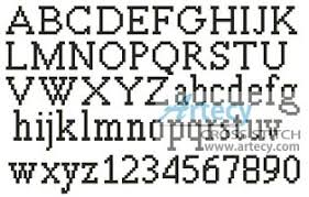 Cross Stitch Alphabet Patterns Best Artecy Cross Stitch Alpha 48 Cross Stitch Pattern To Print Online