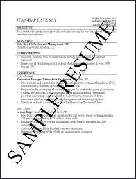 Job Title For Resume General Resume Templates Unique Resume Template ...