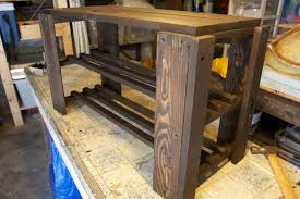pallet storage bench image
