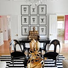 interior design for black and white stripe rug in striped ideas