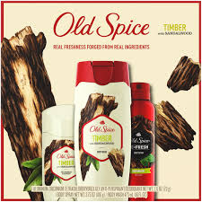 old e timber with sandalwood body wash body spray antiperspirant deodorant for men gift pack walmart