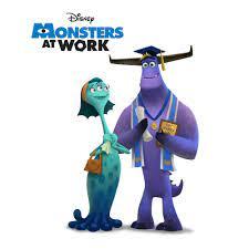 Nieuwe foto's van Monsters at Work ...