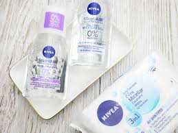 however nivea s range of micellar water inspired s are much more up my street the range utilises the micellar water to remove all traces of makeup