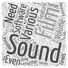 A Necessary Feature Of Pattern Is Best Is Software Necessary In Feature Film Creation Word Cloud Concept