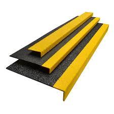 grit coated fiberglass step covers panels