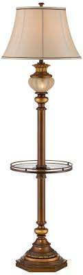 kathy ireland hyde park floor lamp with glass tray parks