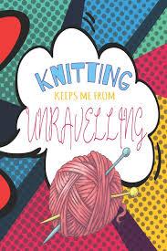 Pop Art Design Ideas Knitting Keeps Me From Unravelling Pop Art Knitting Journal