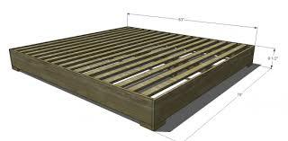 king size bed frame dimensions. King Size Bed Frame Measurement Dimensions