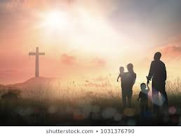 amp; Concept 1035743536 Looking Photos Family Silhouette Images Similar Stock - Sunday Shutterstock Easter Of Vectors