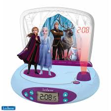 Frozen Night Light Projector Frozen 2 Projector Clock With Sounds