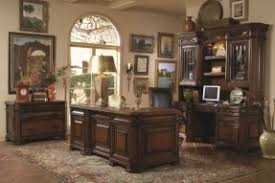 3350 executive home office furniture in light cherry finish executive desk and credenza w home office furniture cherry finished