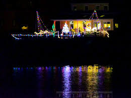 xmas lighting decorations. Xmas Lights Reflections In The Saint Andrews Harbour Lighting Decorations