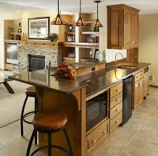clever interior for kitchenette design ideas with cabinet made of