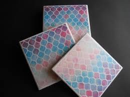Decorative Tile Coasters Moroccan Coasters Mosaic Coasters Drink Coasters Decorative 92