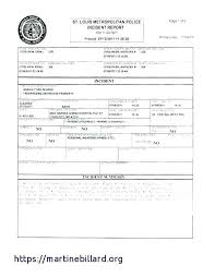 Vehicle Accident Report Template Blank Incident Awesome