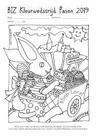 Kleurwedstrijd Pasen Weekblad Voor Ouder Amstel