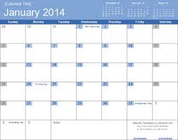 microsoft excel calendar excel calendar templates 2014 download