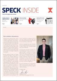 Speck Design Jobs Speck Inside Edition 03 2017 News Press Latest News