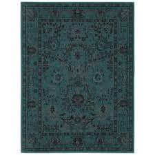 Small Picture Home Decorators Collection Overdye Teal 7 ft 10 in x 10 ft Area