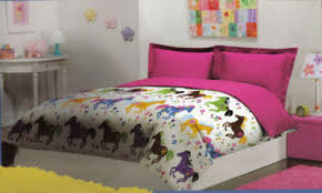 Purple Themed Bedroom Girls Purple Bedroom Horse Themed Bedding For Bedspreads Sets