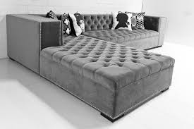 velvet tufted sectional. Wonderful Velvet New Grey Tufted Sectional 66 About Remodel Modern Sofa Ideas With  With Velvet S