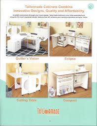 Tailormade Sewing Cabinet Sewing Furniture A Straight Stitch