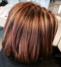 Medium Length Hairstyles Red Highlights Medium Length Hairstyles