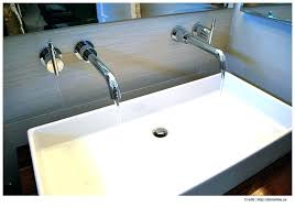 wide bathroom sink two faucets wide bathroom sink two faucets mini widespread bathroom sink