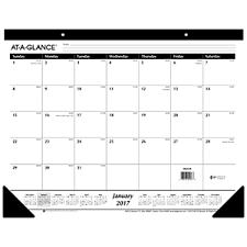 Agenda Office Desk Pad Calendar 2018 Large Office Agenda Planner Schedule Ruled