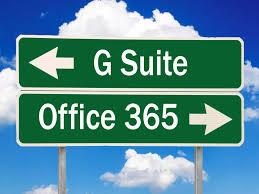 Office 365 Enterprise Plans Comparison Chart Office 365 Vs G Suite Which Productivity Suite Is Best For