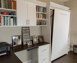 Guest bedroom office Space Saving Guest Bedroom Office Changes Function By Using Fold Away Beds Closet Works Versatile Guest Bedroom Office And Music Space