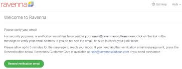 Verifying – Ravenna Address Solutions Account Email My