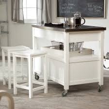 Belham Living Concord Kitchen Island with Optional Stools - White    Hayneedle
