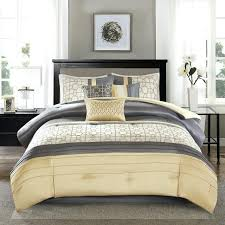 yellow gray and white bedding popular yellow grey white simple modern bedding sets king comforter sets yellow gray and white bedding
