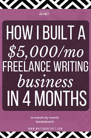 best lance writing tips images writing  how i built a 5k mo lance writing business in 4 months