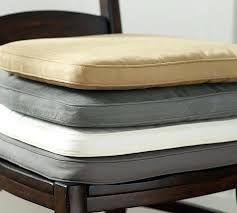 leather chair pad leather look chair cushions