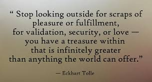 Image result for eckhart tolle quotes on presence