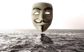 Por 1920x1080 De Descargar Máscara Agua Anonymous Fondo Del Encima Pantalla