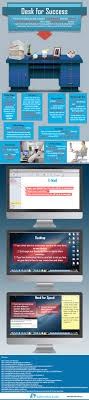 organize office desk. Infographic Organizing Tips How To Organize Your Desk Office I