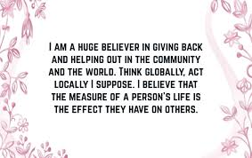 Quotes About Giving Back Extraordinary Giving Back Quotes Text Image Quotes QuoteReel
