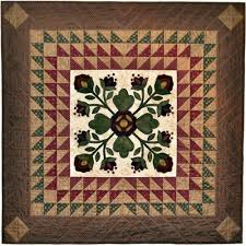 Savannah Wall Hanging Quilt Pattern | Quilters Warehouses & Savannah Wall Hanging Quilt Pattern Adamdwight.com