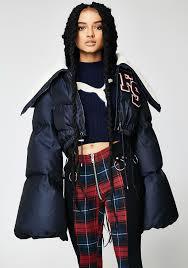 PUMA FENTY PUMA By Rihanna Funnel Collar Quilted Jacket | Dolls Kill & PUMA FENTY PUMA By Rihanna Funnel Collar Quilted Jacket Adamdwight.com