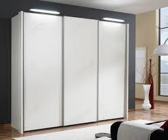 wiemann miami white glass sliding door wardrobe h236cm