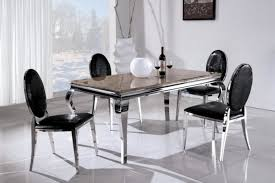 contemporary metal furniture. Stainless Steel Table And Chairs Modern With Photos Of Ideas New On Contemporary Metal Furniture S
