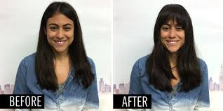 flawless fake bangs in 5 steps use bang extensions for gorgeous fringe hairstyles