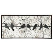 large metal wall art birds