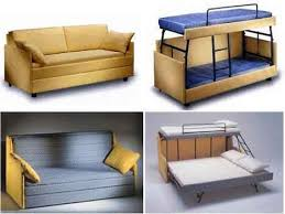 Sofa Bed Design, Sofa Converts To Bunk Beds Transformer Furniture Two Or  Three Beds Sample